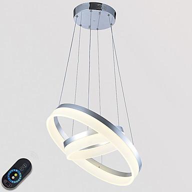 펜던트 조명 엠비언트 라이트 - 밝기조절가능, LED, 원격 제어로 조광 가능, 110-120V / 220-240V, 원격 제어로 조광 가능, LED 광원 포함 / 10-15㎡ / 집적 LED