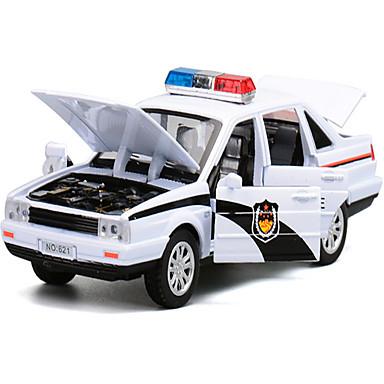 Carros de Brinquedo Carro de Polícia Brinquedos Música e luz Brinquedos Metal Peças Unisexo Dom