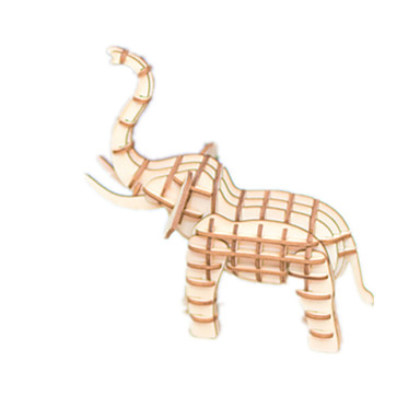 3D puzzle Zvíře Zábava Dřevo Klasické