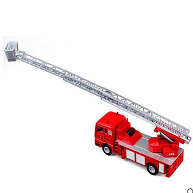 Caminhão de Bombeiro Caminhões & Veículos de Construção Civil Carros de Brinquedo Plástico Crianças Brinquedos Dom