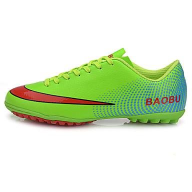 Zapatos de fútbol / Botas de Fútbol TPR Fútbal A prueba de resbalones, Anti-Shake, Transpirable Cuero PVC Amarillo / Verde / Azul