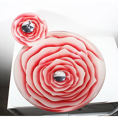 Pia de Banheiro Moderna - Vidro Temperado Redondo