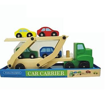 Caminhão Caminhão de carga Caminhões & Veículos de Construção Civil Carros de Brinquedo Playsets veículos Madeira Para Meninos Crianças
