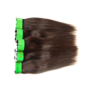 povoljno Remy umeci od ljudske kose-Ljudska kosa Remy umeci od ljudske kose Ravan kroj Indijska kosa 500 g 6 mjeseci
