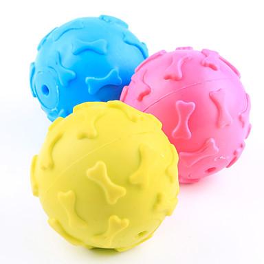 Kauknochen für Katzen Kauspielzeug für Hunde quietschen Knochen Gummi Für Hund Welpe
