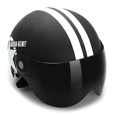 Jet Simples ABS capacetes para motociclistas