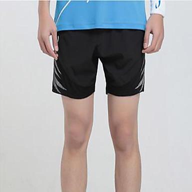 Homens Bolsos Shorts de Corrida - Preto Esportes Exercício e Atividade Física, Basquete, Corrida Roupas Esportivas