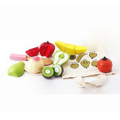 Comida de Brinquedo Brinquedos de Faz de Conta Magnética Madeira Crianças Dom 1pcs