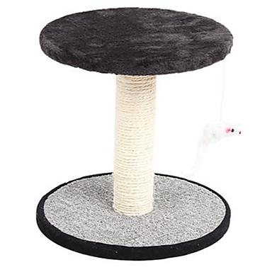 Katze Katzenspielsachen Haustierspielsachen Interaktives Kratzbaum Sisalhanf Für Haustiere
