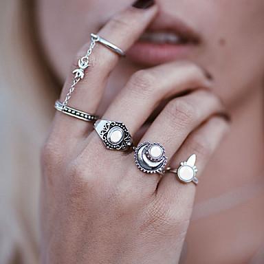 Dámské Syntetický opál Jedinečný design Pryskyřice Slitina Circle Shape Šperky Svatební Párty Zvláštní příležitosti Denní Ležérní
