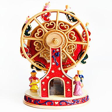 Caixa de música Roda gigante Clássico Rotativo Crianças Adulto Infantil Dom Unisexo