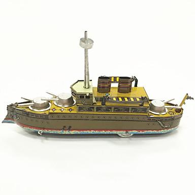 Brinquedos de Corda Brinquedos Barco de Guerra Metal 1 Peças Crianças Dom