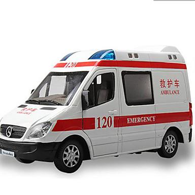 Carros de Brinquedo Brinquedos Modelo de Automóvel Veiculo de Construção Carro de Polícia Ambulância Brinquedos Música e luz Quadrada