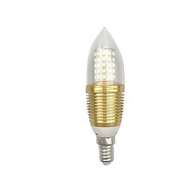 9 W 850 lm E14 / E26 / E27 Lâmpadas Espiga C35 60 Contas LED SMD 2835 Branco Quente / Branco 85-265 V / 1 pç