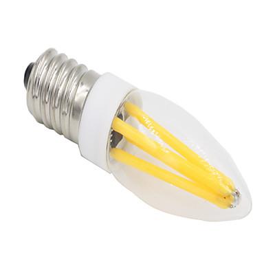 2W 280-300lm E14 G9 Luminárias de LED  Duplo-Pin T 4 Contas LED COB Regulável Branco Quente Branco Frio 220-240V