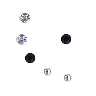 Mulheres Conjunto de jóias Brincos - Luxo Circular Original Boêmio Confeccionada à Mão Estilo bonito Com Elasticidade Formato Circular
