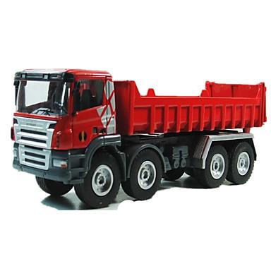 Veículo de Fazenda Caminhão basculante Caminhões & Veículos de Construção Civil Carros de Brinquedo Carrinhos de Fricção 01:50 Metalic