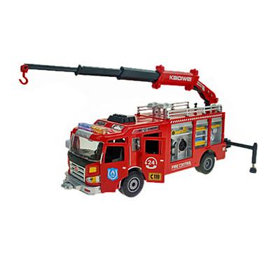 Caminhão de Bombeiro Caminhões & Veículos de Construção Civil Carros de Brinquedo 01:50 ABS Metal Borracha Unisexo Crianças Brinquedos Dom