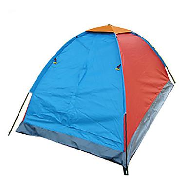 1 osoba Stříška Jednoduchý Camping Tent dva pokoje skládací stan Odolný proti vlhkosti Voděodolný Odolné vůči dešti Prodyšnost pro