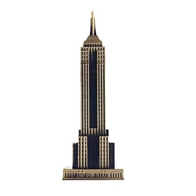 Brinquedos de Montar Construções Famosas / edifício Empire State Faça Você Mesmo Metalic Dom