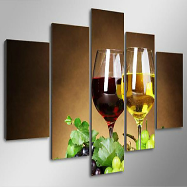 아트 프린트 정물 우아한,5판넬 수평 인쇄 예술 벽 장식 For 홈 장식