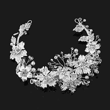 Perle / Künstliche Perle / Aleación Tiaras mit 1 Hochzeit / Besondere Anlässe / Draussen Kopfschmuck