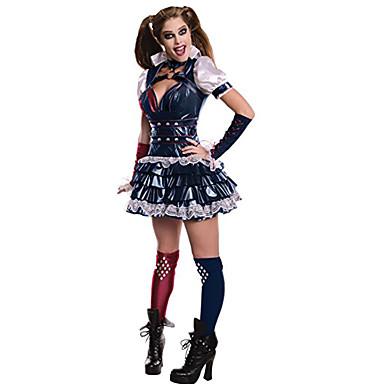 Cosplay-Asut Halloween Props Juhla-asu Naamiaisasu Supersankarit Sotilas/Soturi Burlesque/Pelle Elokuva Cosplay Liivi Pusero Hame Vyö