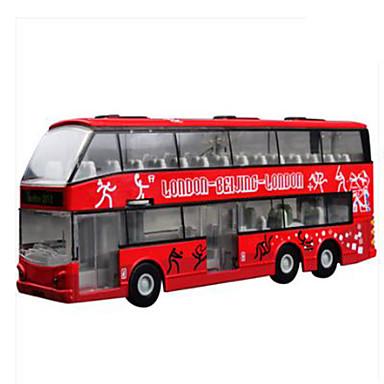 Brinquedos Veiculo de Construção Brinquedos Quadrada Ônibus Plástico Peças Dom