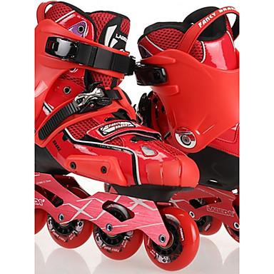 Herrn Damen Erwachsene Inline-Skates tragbar Wasserdicht Komfortabel Rote