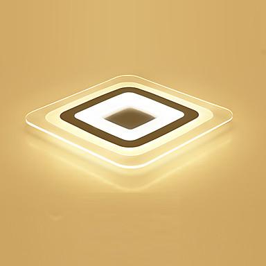 모던/콘템포라리 밝기조절가능 LED 원격 제어로 조광 가능 플러쉬 마운트 엠비언트 라이트 제품 거실 침실 서재/오피스 게임방 4800
