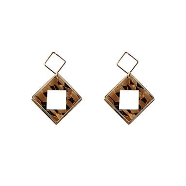 Dámské Visací náušnice Šperky Obdélníkový Módní Přizpůsobeno Euramerican minimalistický styl Akrylát Slitina Square Shape Šperky Pro