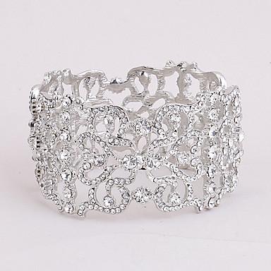 Mulheres Bracelete - Coração Fashion Pulseiras Branco Para Presentes de Natal Casamento Festa / Ocasião Especial / Aniversário / Noivado / namorados