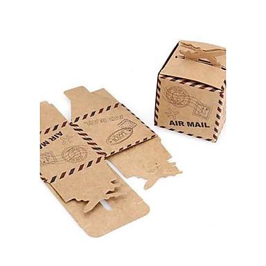 Cúbico Papel de Cartão Suportes para Lembrancinhas com Estampa Caixas de Ofertas / Bolsas de Ofertas / Latinhas Lembrança