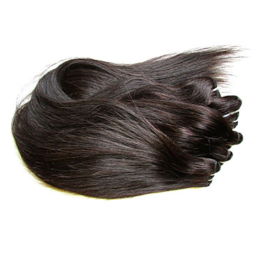 شعر مستعار طبيعي موجات الشعر الطبيعي مستقيم شعر برازيلي 400 g 6 أشهر