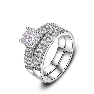 Žene Legura Prsten Izjave - Moda Pink Prsten Za Vjenčanje / Ured i karijera
