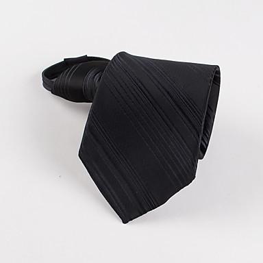 pánské party / večer korejský proužek obchodní muž zip kravata