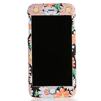 Hülle Für Apple iPhone 7 Plus iPhone 7 Muster Ganzkörper-Gehäuse Blume Hart PC für iPhone 7 Plus iPhone 7 iPhone 6s Plus iPhone 6s iPhone