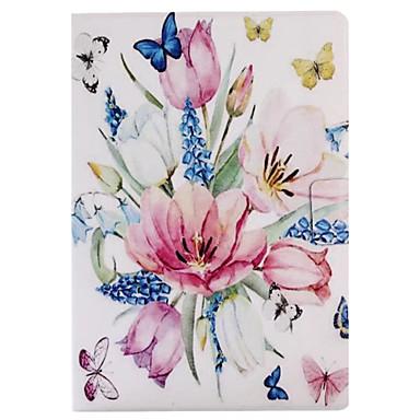 Für Hüllen Cover Kreditkartenfächer mit Halterung Flipbare Hülle Muster Smart Touch Handyhülle für das ganze Handy Hülle Blume Hart