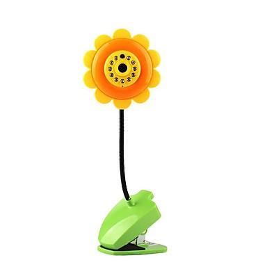 monitor video babá eletrônico sem fio da babá do bebê da câmera do wifi do ip na lâmpada da flor