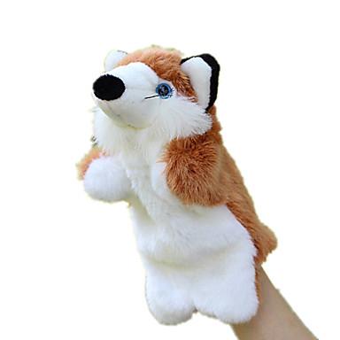 Bonecas Brinquedos Raposa Animal Tecido Felpudo Crianças Peças