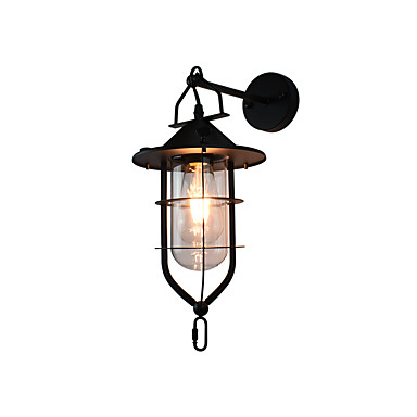 4 E27 Maalaus Ominaisuus for LED Lamppu sisältyy hintaan,Ympäröivä valo Wall Light