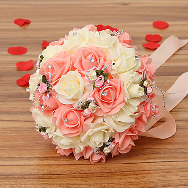 Artificial Flowers 1 Branch Wedding Flowers Roses Tabletop Flower