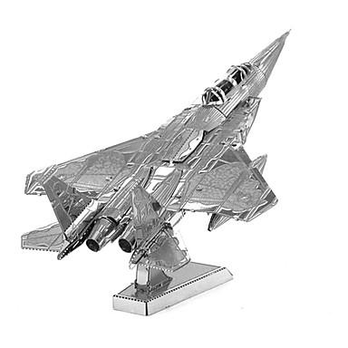 Puzzles 3D - Puzzle Bausteine Spielzeug zum Selbermachen Flugzeug Metall Model & Building Toy