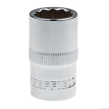 Stahl Schild 10mm Serie metrische 6 Winkel verlängerte Hülse 14mm / 1 Unterstützung