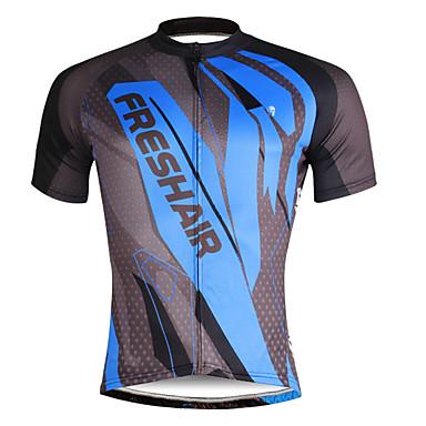 ILPALADINO Homens Manga Curta Camisa para Ciclismo Caveiras Moto Camisa/Roupas Para Esporte, Secagem Rápida, Resistente Raios