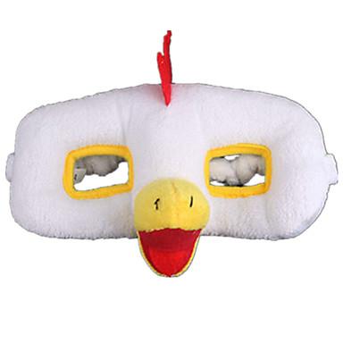 Halloween-Masken Tiermaske Kuscheltiere & Plüschtiere Spielzeuge Hühnchen Plüsch Zum Gruseln Stücke Damen Mädchen Geschenk