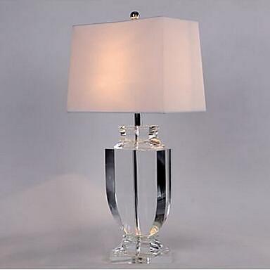 40 moderní - současný design Stolní lampa , vlastnost pro Křišťál , s Pochromovaný Použití Vypínač on/off Vypínač