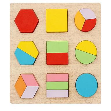 Cartões Educativos Jogos de Madeira Brinquedos Quadrada De madeira Crianças Peças