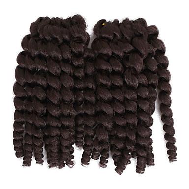 Klassisch Jamaikanisches Lockenhaar Pre-Schleife Crochet Borten / Echthaar Haarverlängerungen Haar Borten Alltag