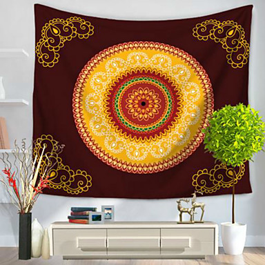 Abstrakt Wand-Dekor 100% Polyester Modern Wandkunst, Wandteppiche Dekoration